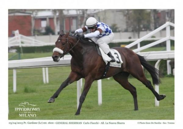 General Sherman easily takes the Listed Premio Gardone in Italy